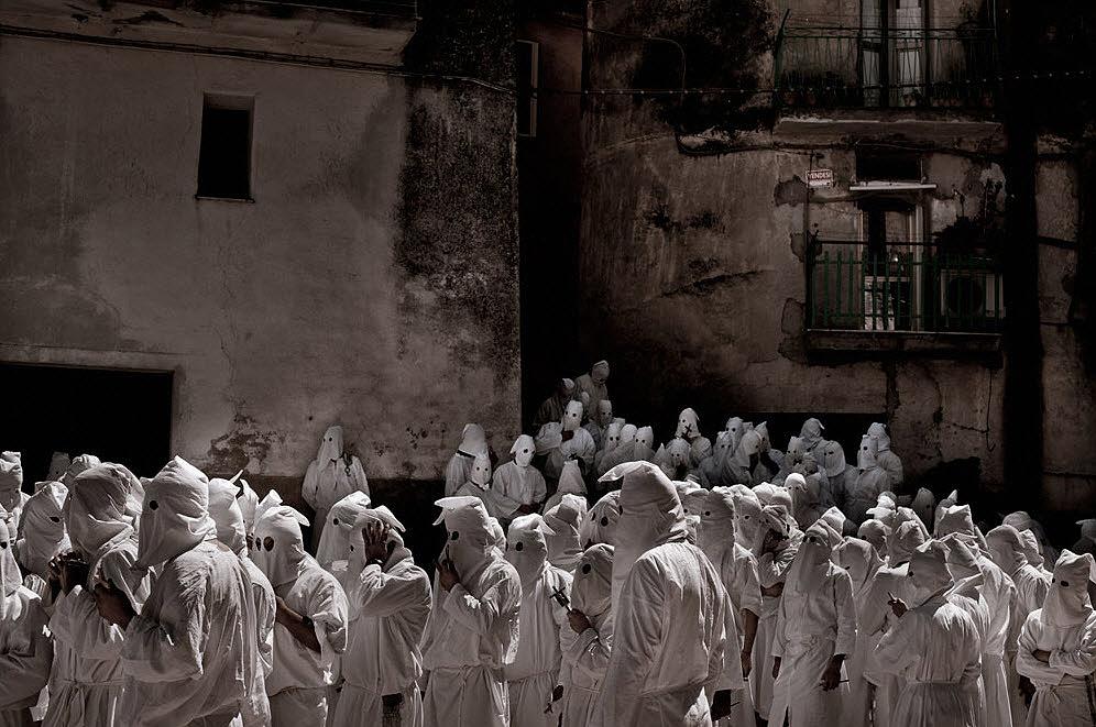 flagellanti04 upacara dera abad pertengahan di Italia