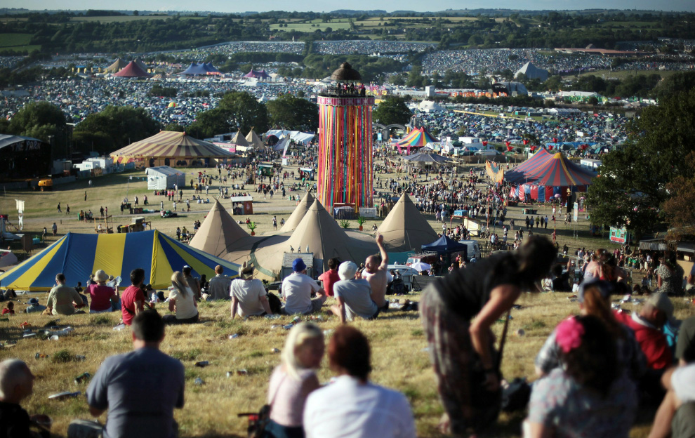 Фестиваль Glastonbury 2010