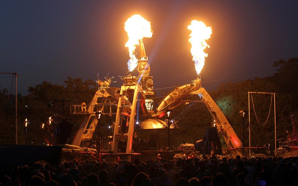 Фестиваль Glastonbury 2010