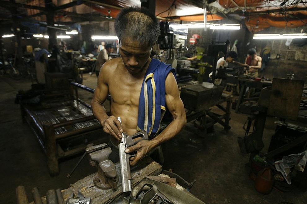 guns02 Artisans senjata di Filipina