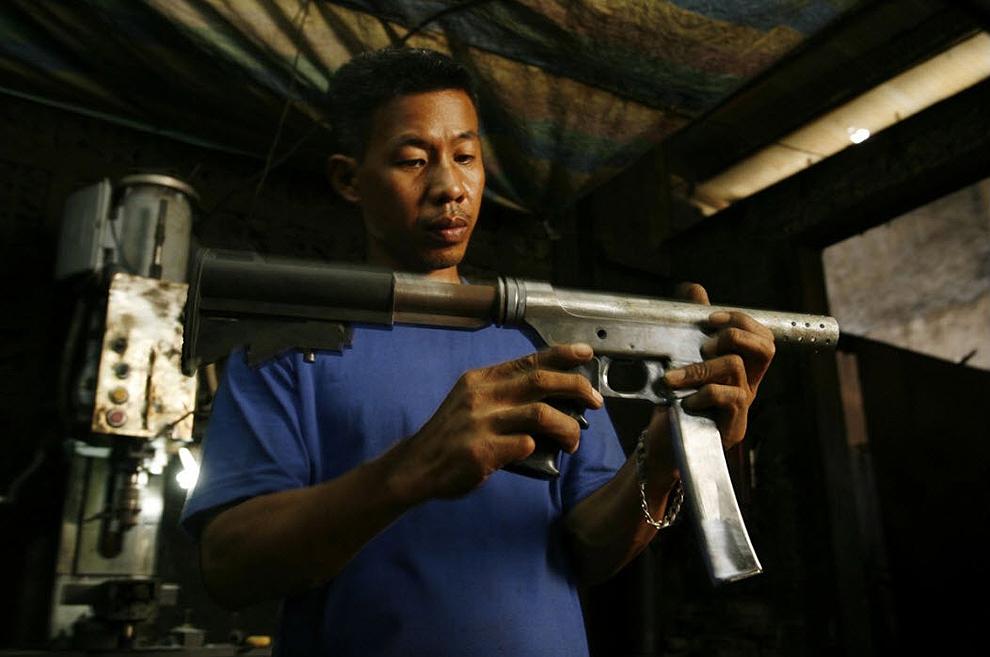 guns13 Artisans senjata di Filipina