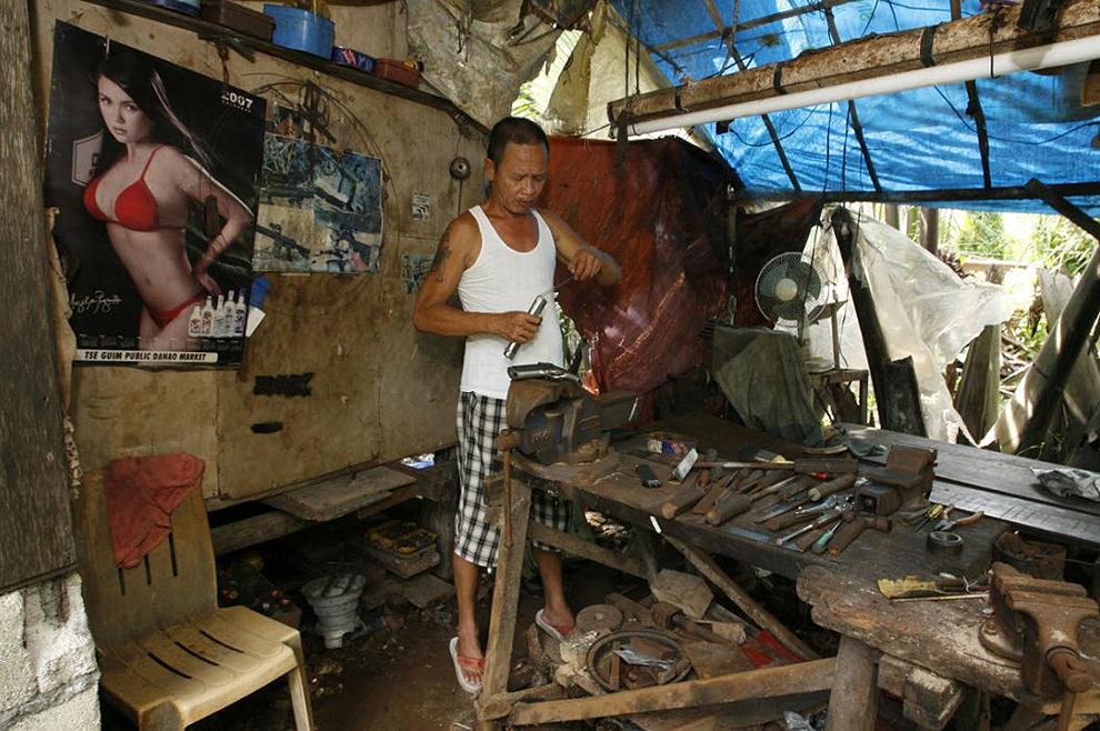 guns21 Artisans senjata di Filipina