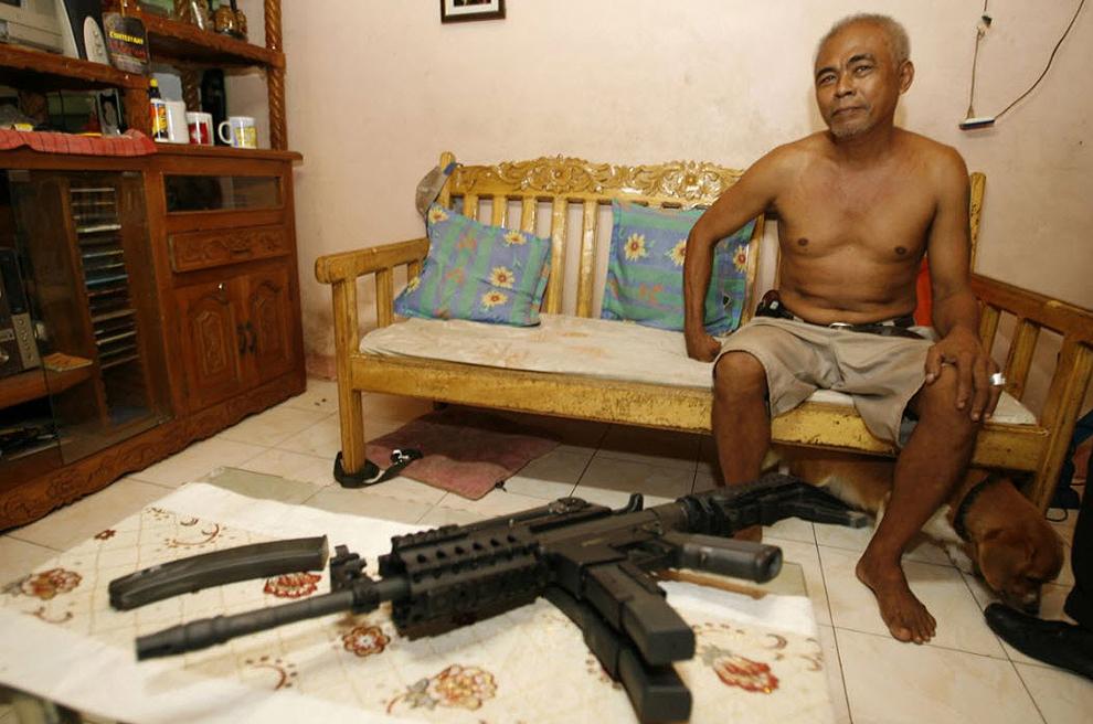 guns23 Artisans senjata di Filipina