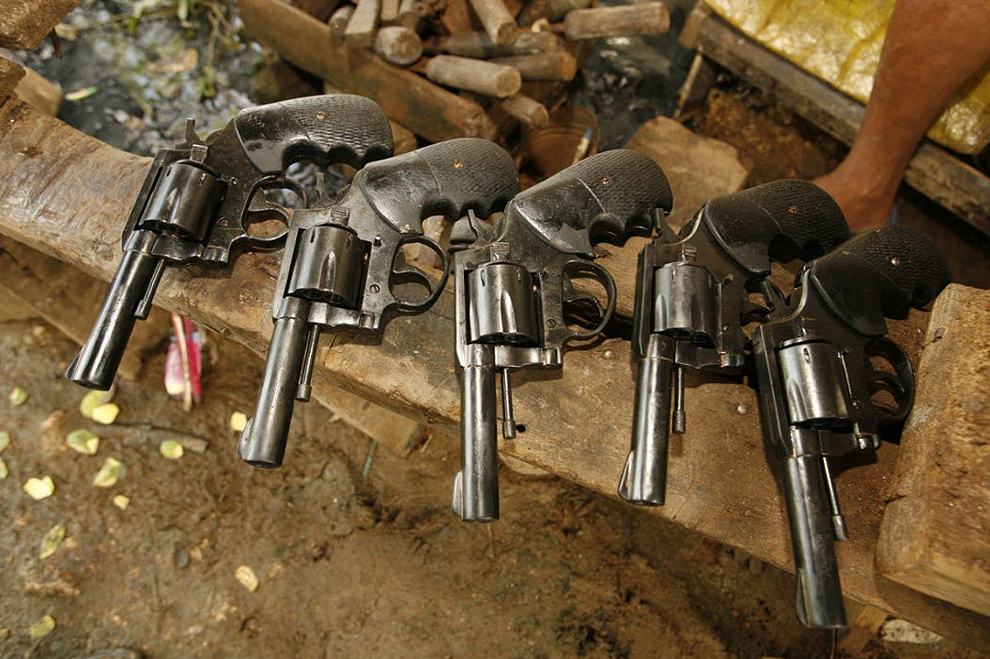 guns26 Artisans senjata di Filipina