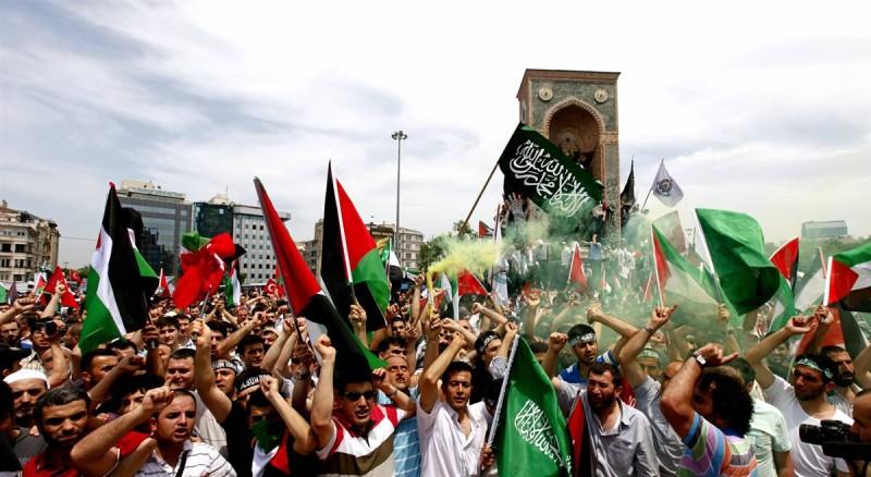 Акции протеста против политики Израиля