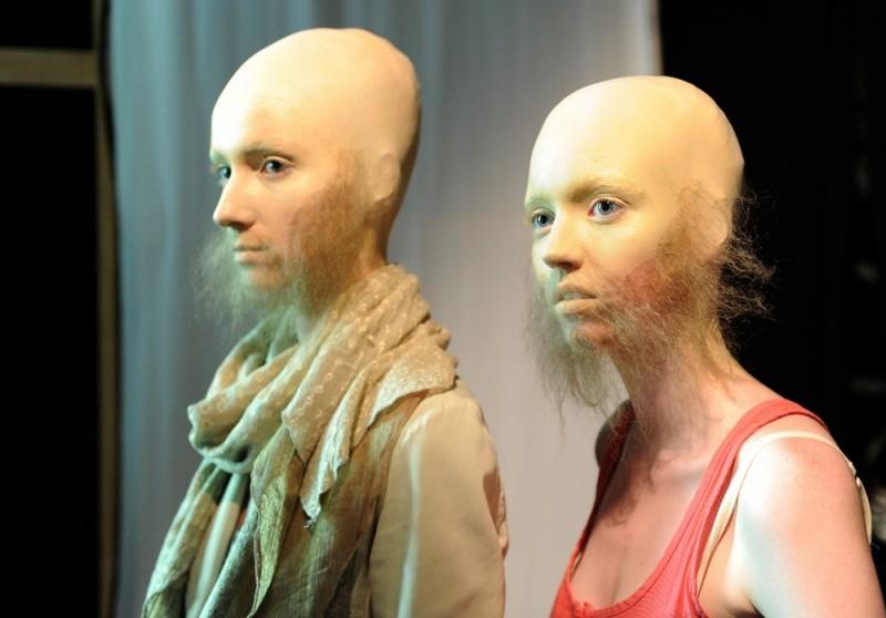Странная мода: лысо-бородатые девочко-мальчики