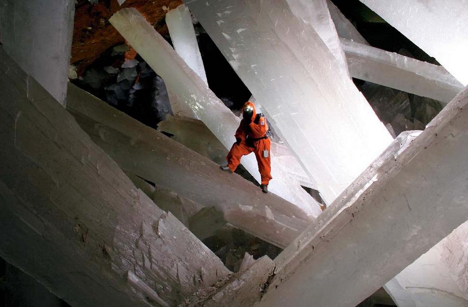 0 33527  Пещера гигантских кристаллов
