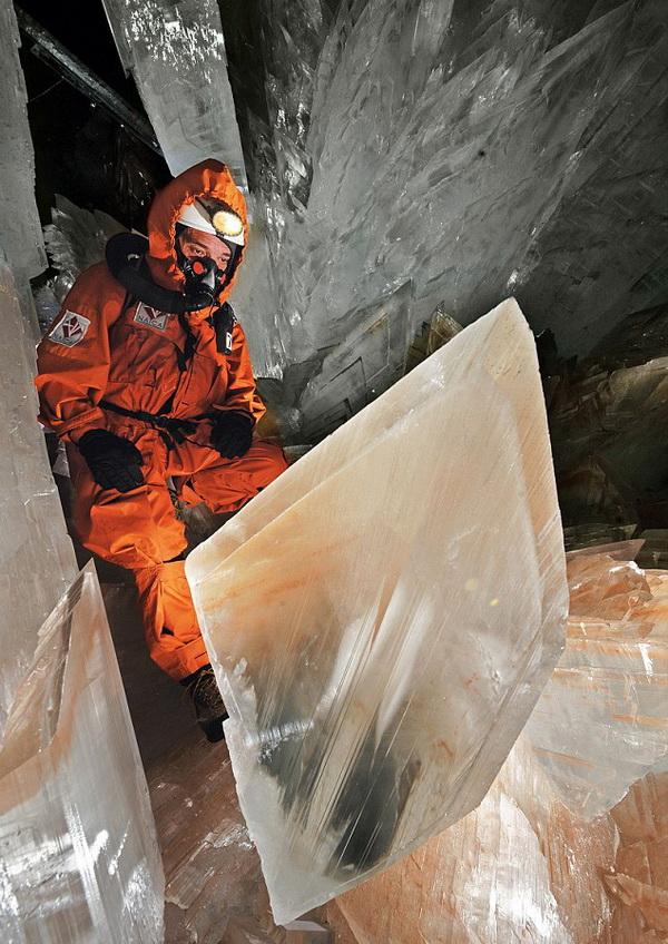 0 3352c  Пещера гигантских кристаллов