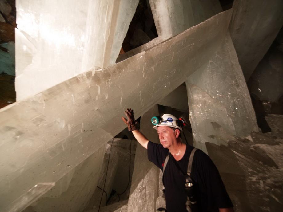 0 33532  Пещера гигантских кристаллов