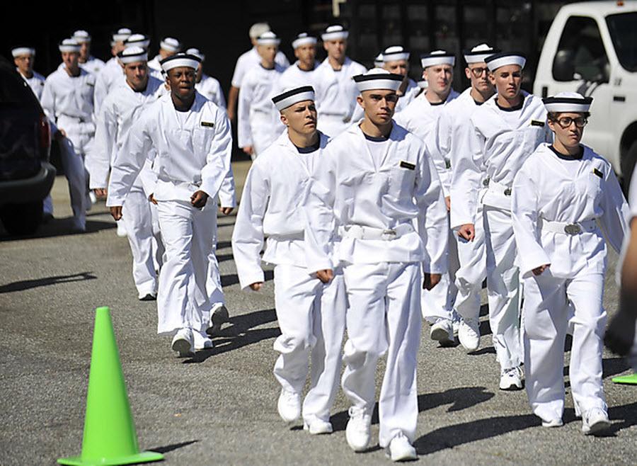 Летний призыв в военно-морской академии