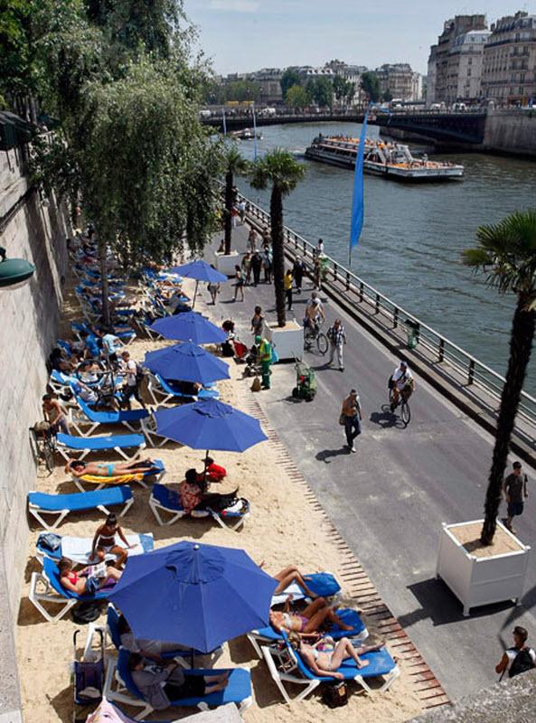 1269 Искусственные пляжи в Париже