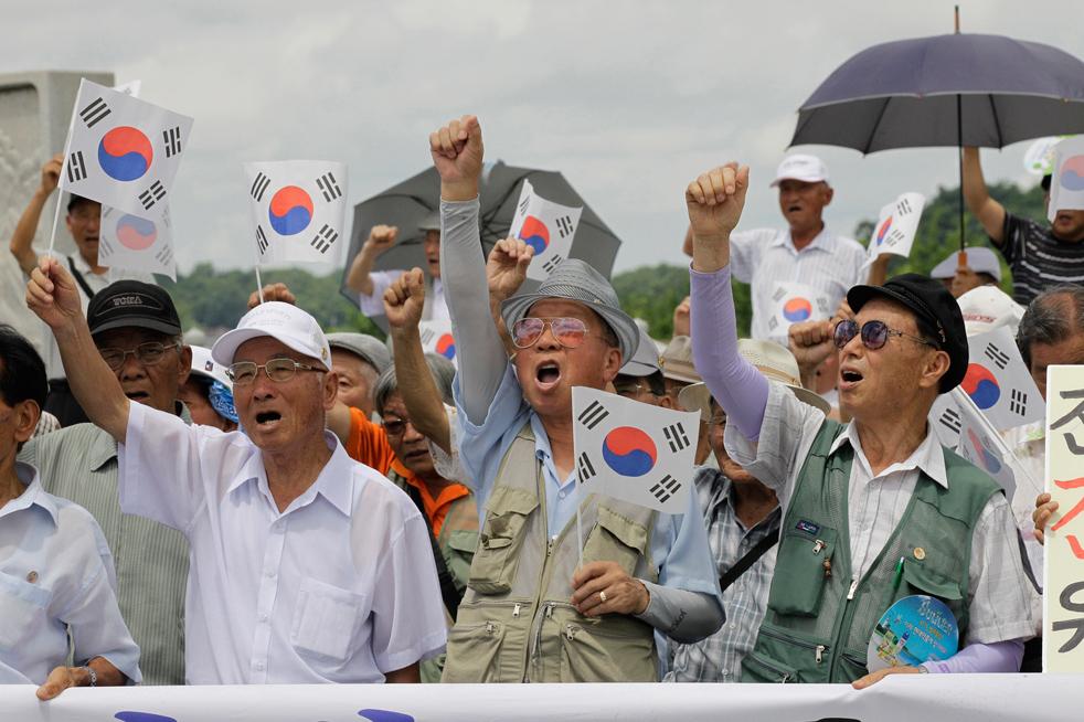 Южная Корея объединяется с США