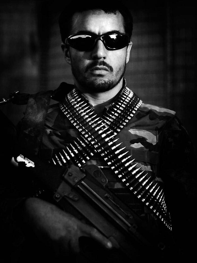 Prajurit Tentara Nasional Afghanistan