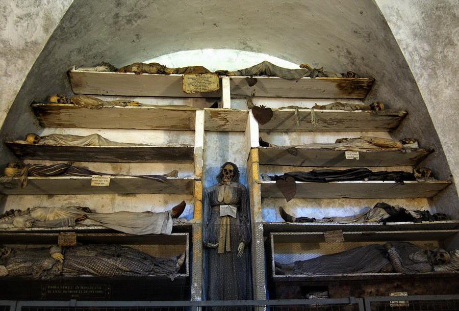 Музей мертвецов в Палермо