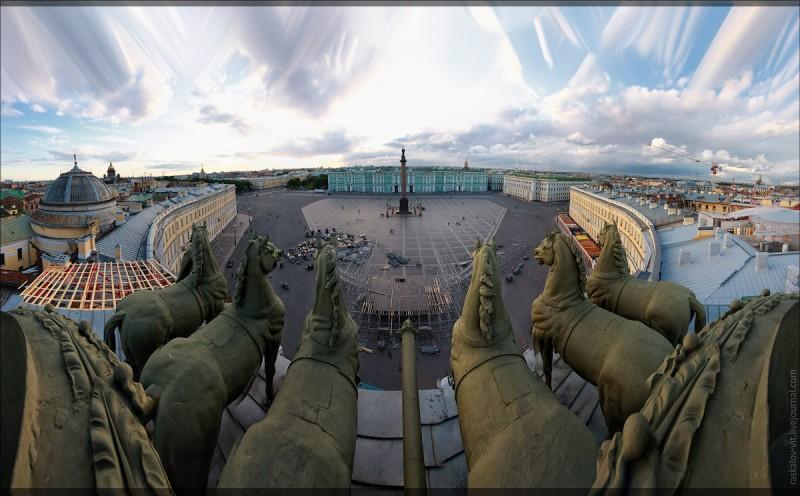 Санкт-Петербург. Взгляд с крыши.