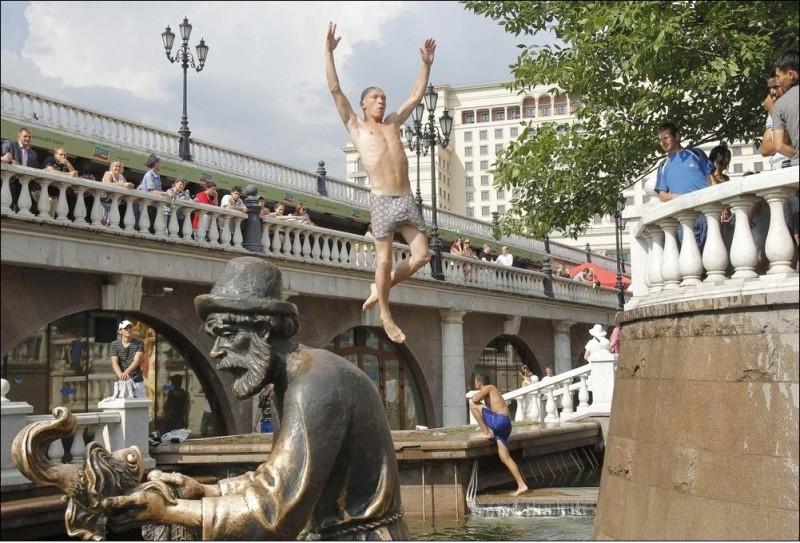 Рекордно жаркое лето в России