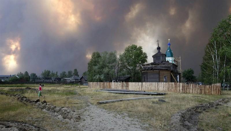Пожары в России (Часть 1)