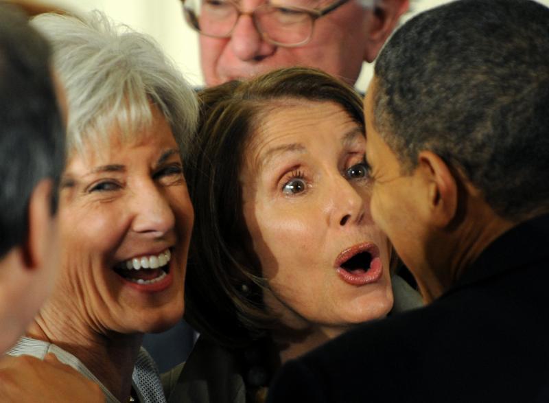 Смешные лица политиков