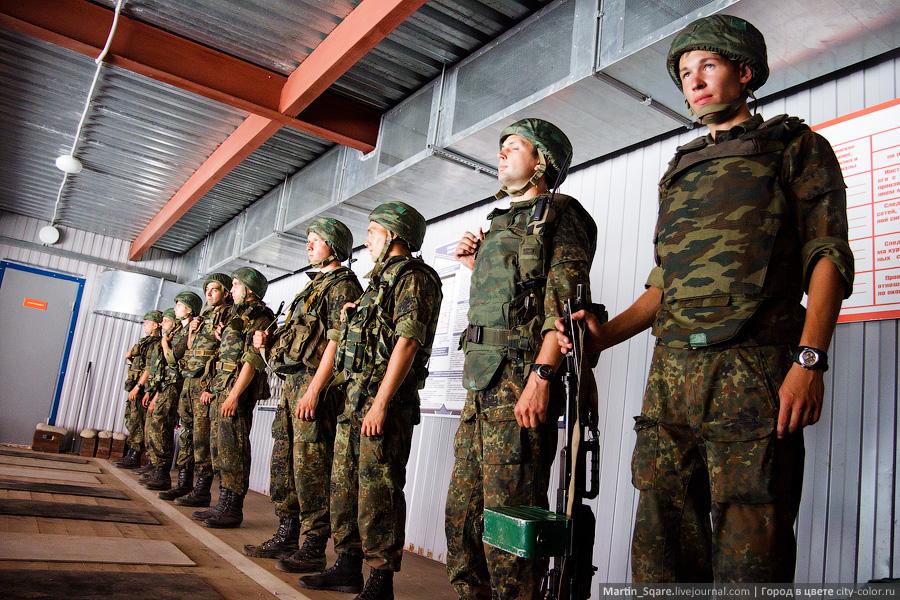 Поездка в 45-й полк ВДВ