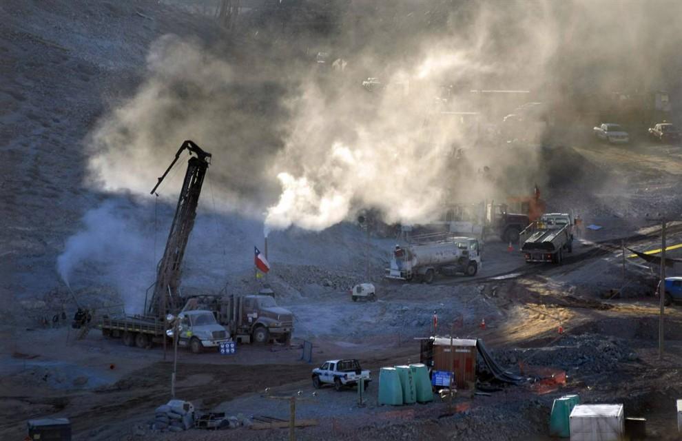 american history chilean copper mine collapse
