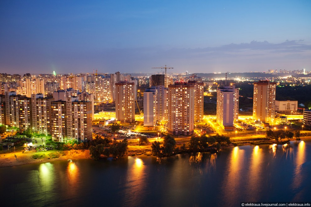 Прохладный ночной Киев