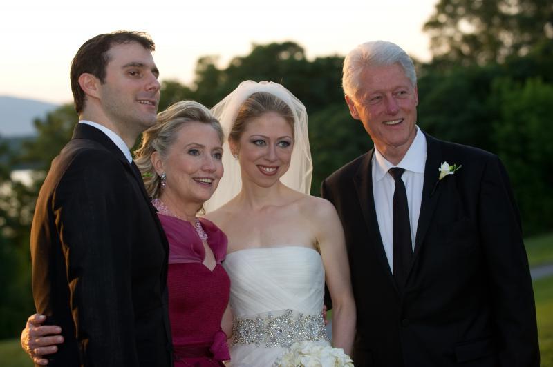 Chelsea Clinton and Marc Mezvinsky wedding photos