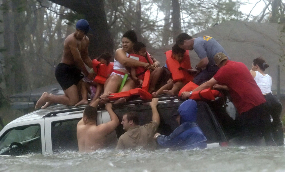 12121 Ураган Катрина   пять лет спустя