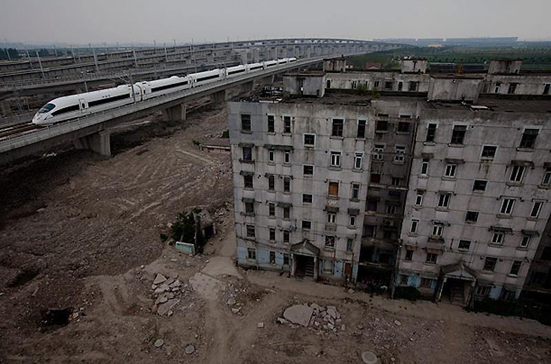 Скоростные железнодорожные линии в Китае
