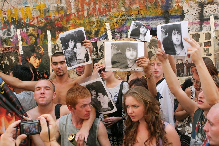 20 лет со дня смерти В. Цоя. День памяти в Москве