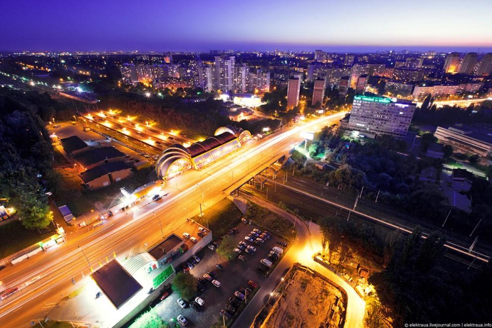 Киев - вид с крыши