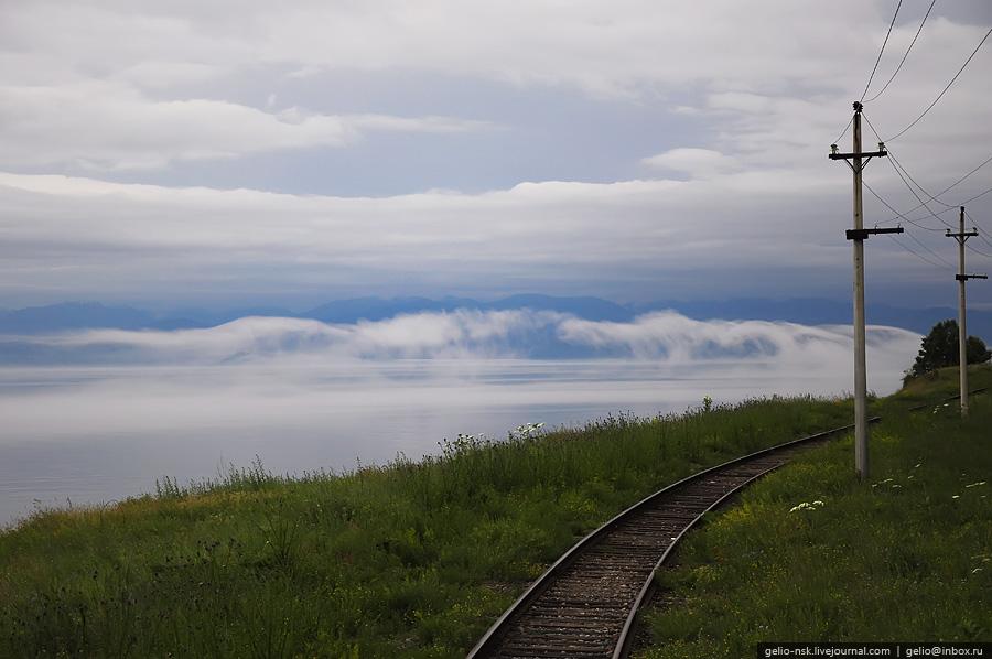 Озеро Байкал   Кругобайкальская железная дорога (КБЖД) (2010)