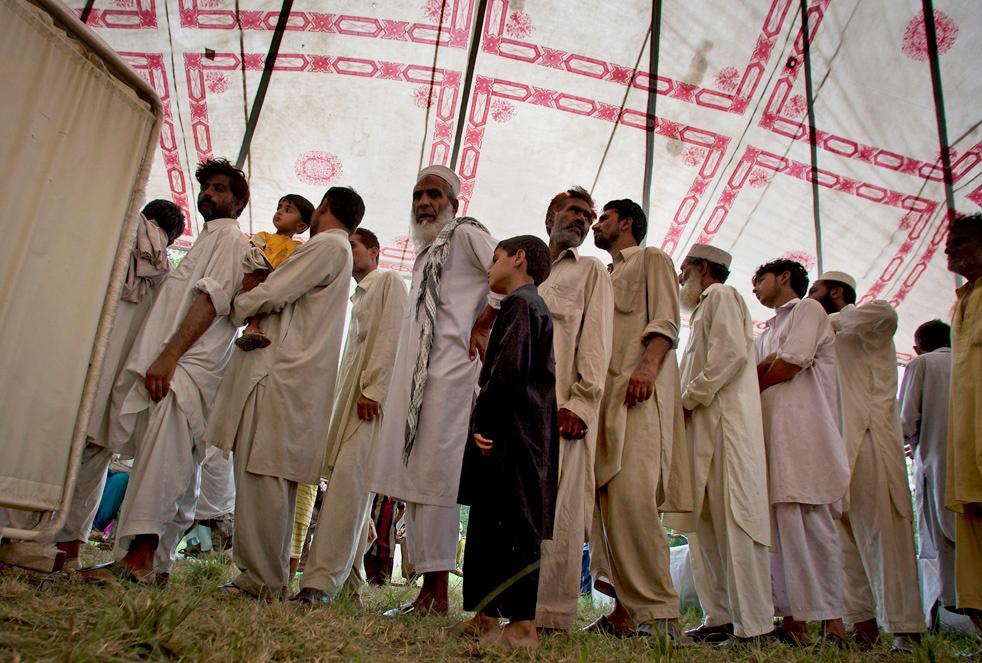 Наводнение продолжается в пакистане