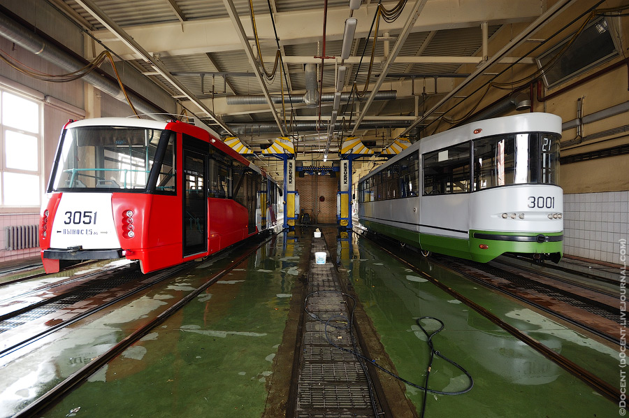 Строгинское трамвайное депо