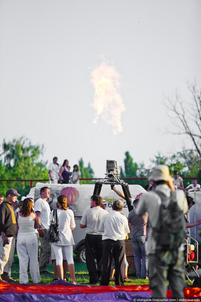 Фестиваль воздушных шаров в Василькове
