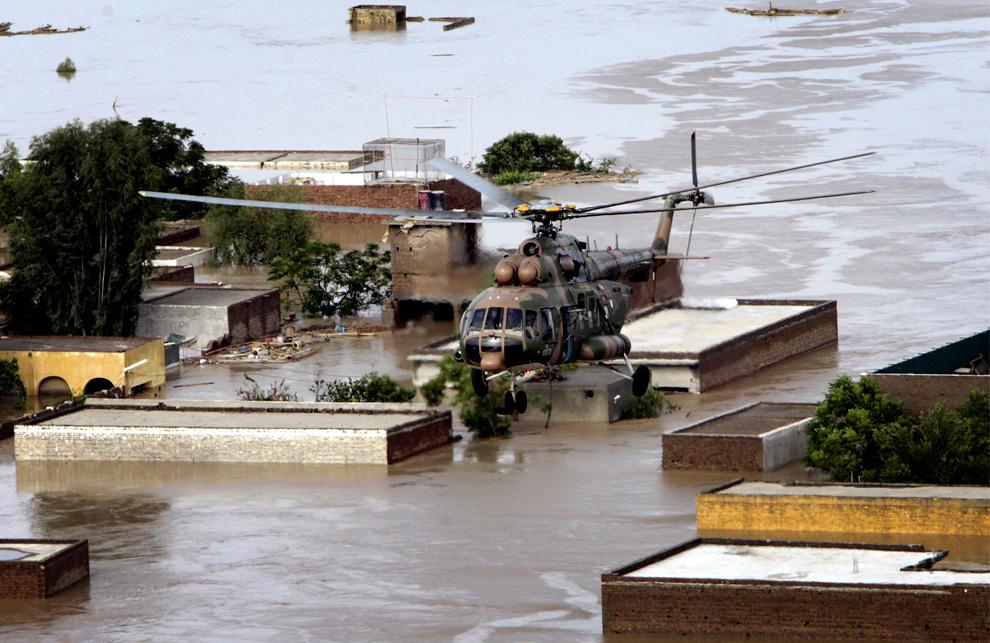 Наводнения в пакистане