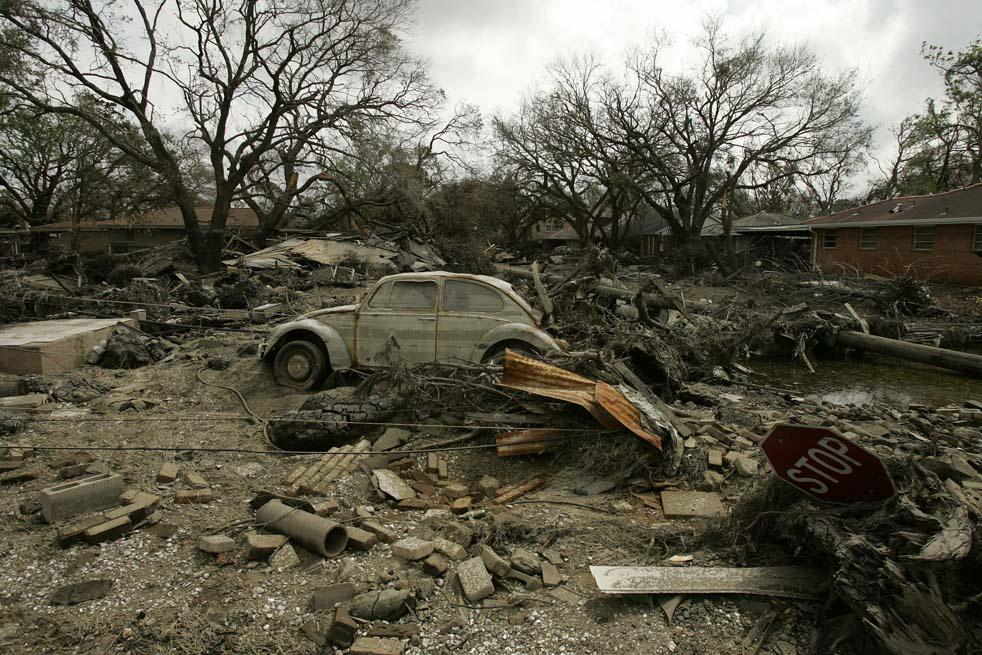 3618 Ураган Катрина   пять лет спустя