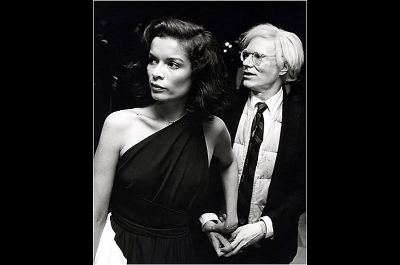 Bianca jagger and andy warhol (photo by ron galella/wireimage)