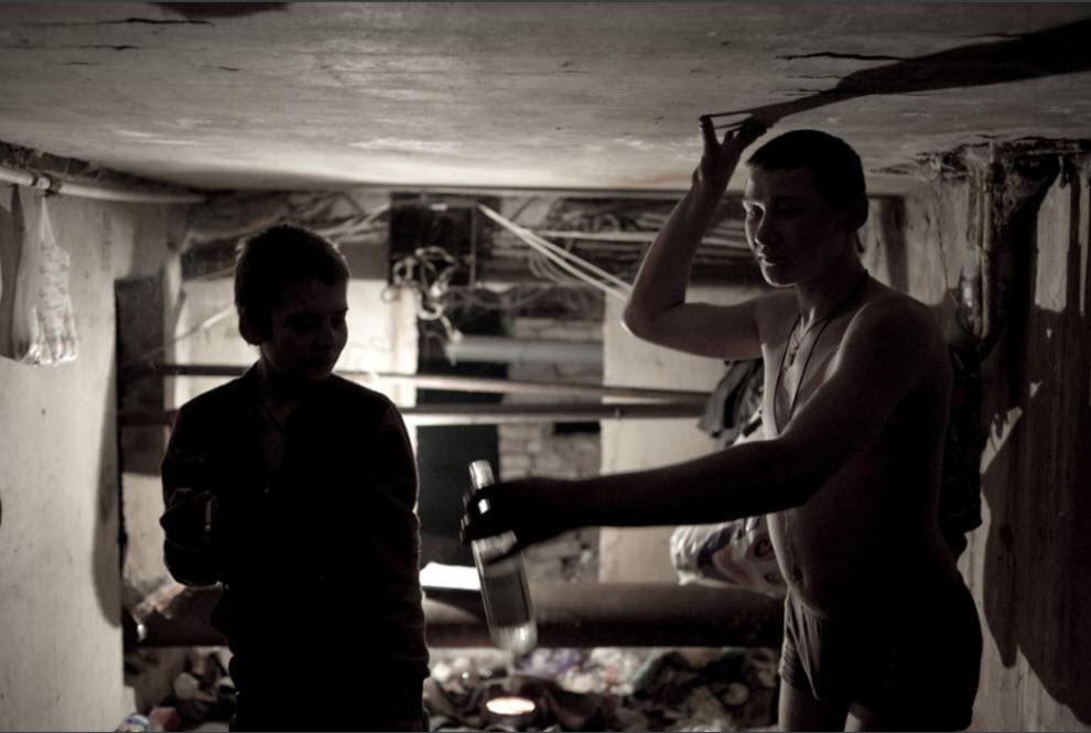 homeless09 Украинские беспризорники