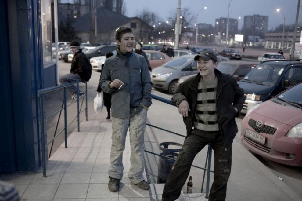 homeless31 Украинские беспризорники