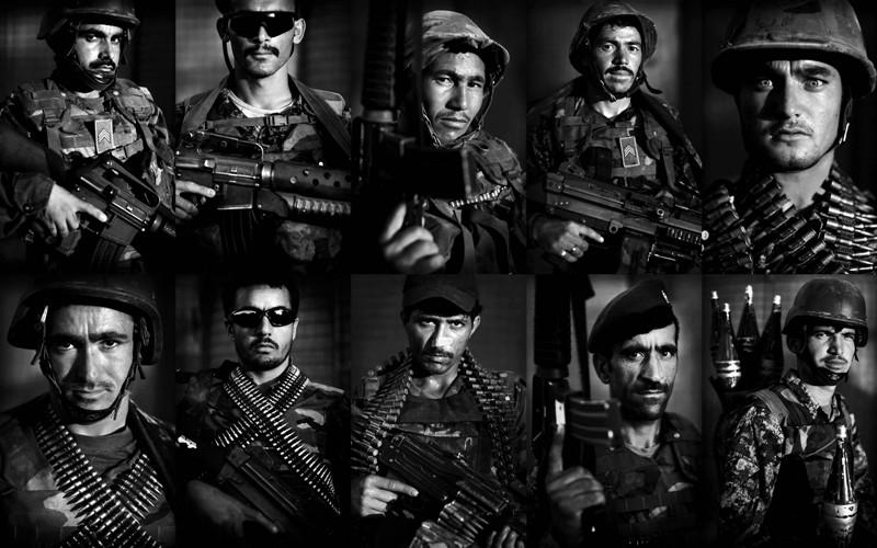 images14 prajurit Tentara Nasional Afghanistan