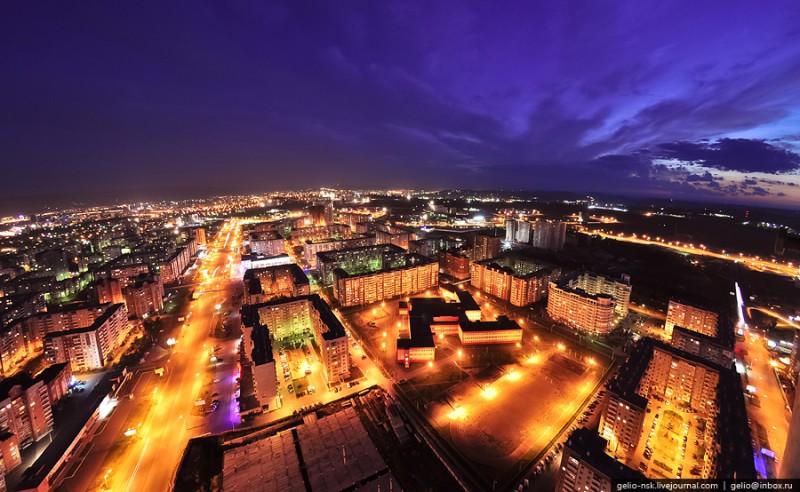 Красноярск - вид сверху