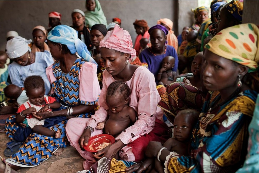 nigerfoodcrisis05 990x660 Продовольственный кризис в Нигере