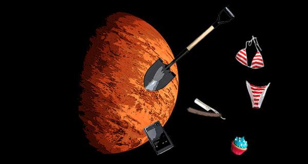 Земные вещи в космосе: что брать на другую планету