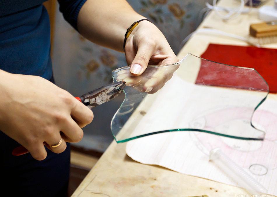 Изготовление стекло своими руками фото