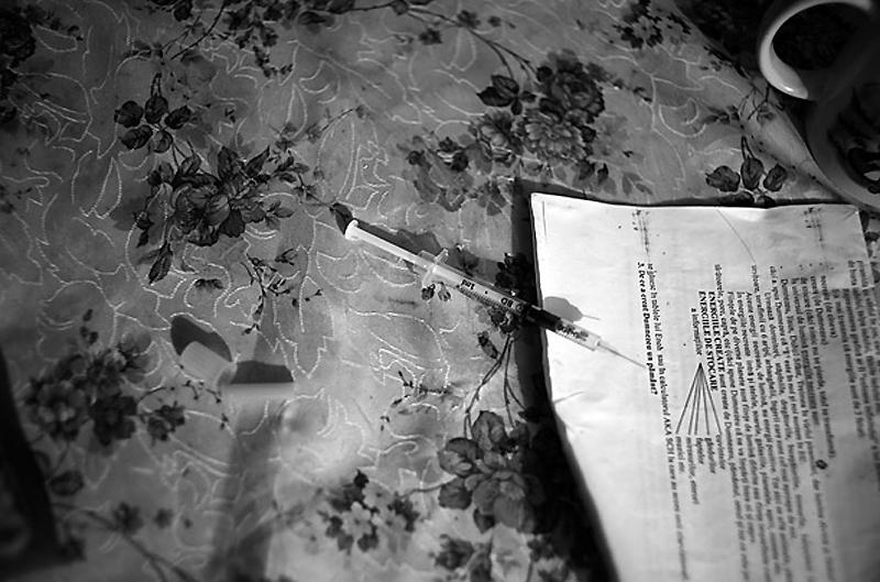 Румынский нарко-притон