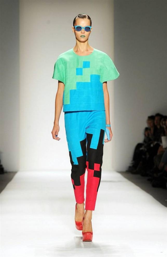 Самые странные и эксцентричные наряды недели моды в Нью-Йорке