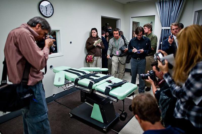 Новая камера для смертельной инъекции