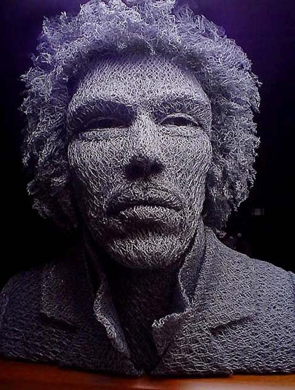 150 Скульптуры из проволоки