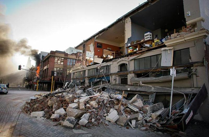 170 Землетрясение в Новой Зеландии