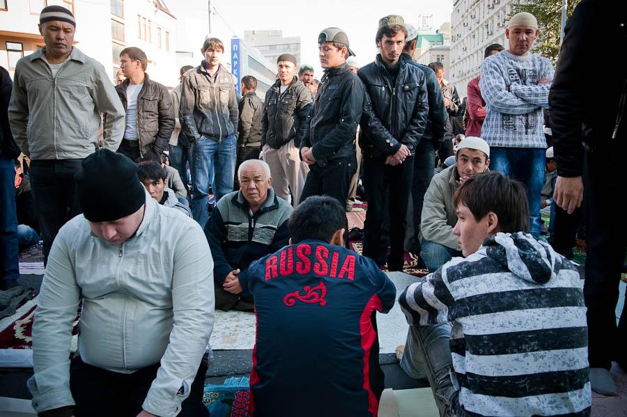 2213 Ураза байрам в Москве